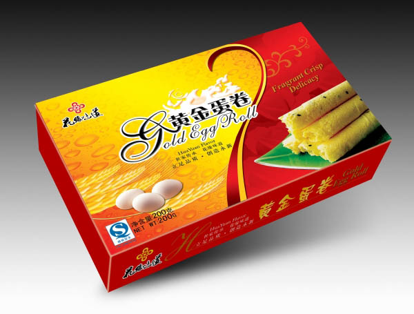 食品包装盒|饼干包装盒|蛋卷包装盒|包装盒定制